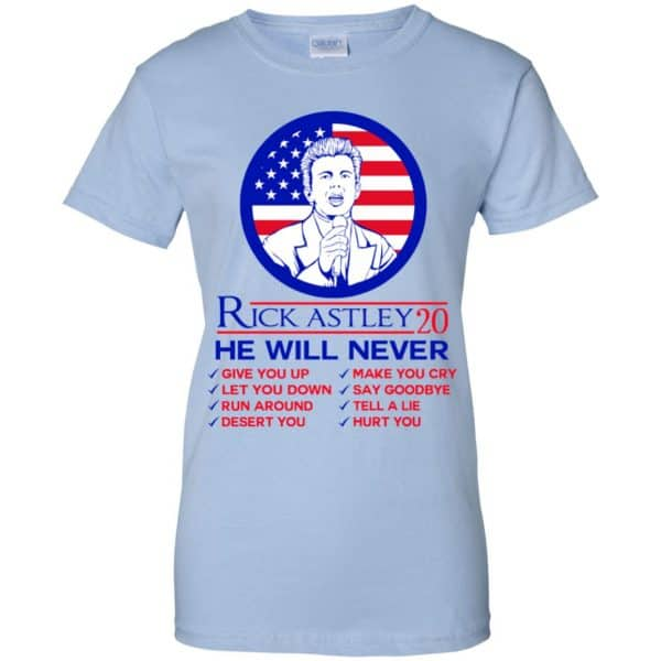 Rick Astley 2020 He Will Never T-Shirts, Hoodie, Tank Apparel 14