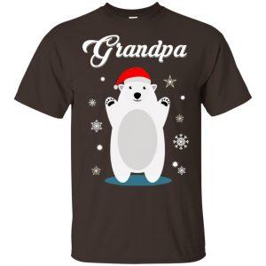 Grandpa Bear Christmas Santa Pajamas T-Shirts, Hoodie, Sweater Apparel 2