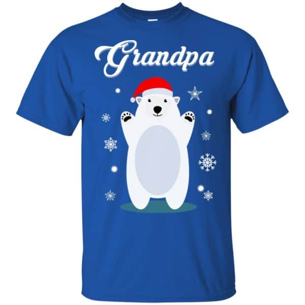 Grandpa Bear Christmas Santa Pajamas T-Shirts, Hoodie, Sweater Apparel 5