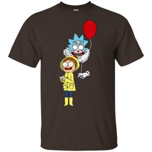 Rick and Morty IT shirt: Pennywise Rick And Morty Halloween Shirt, Hoodie, Tank Apparel