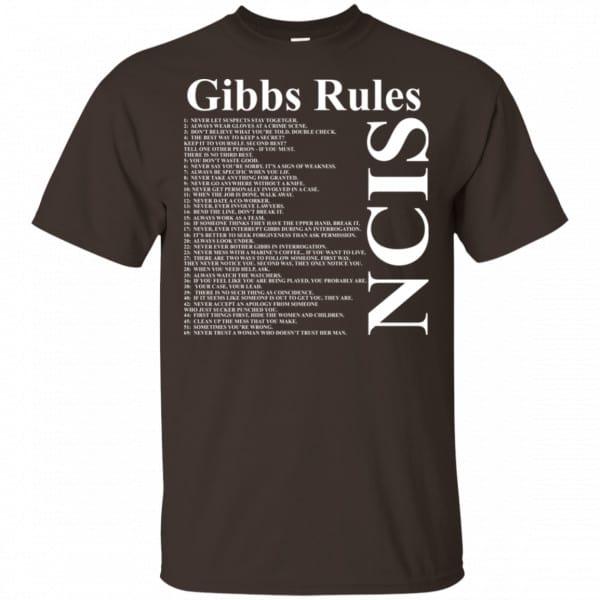 NCIS Gibbs Rules Shirt, Hoodie, Tank Apparel 4