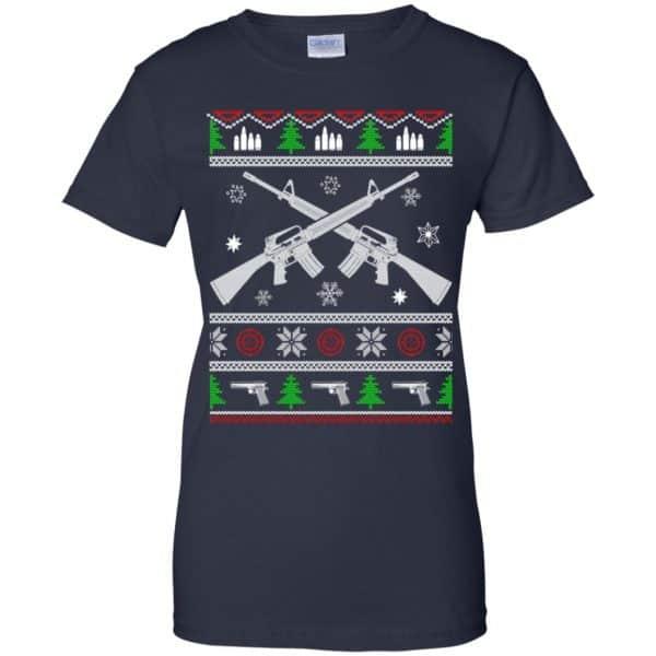 I Want Rifle Guns For Christmas Ugly Christmas Sweater, T-Shirts, Hoodie Apparel 13