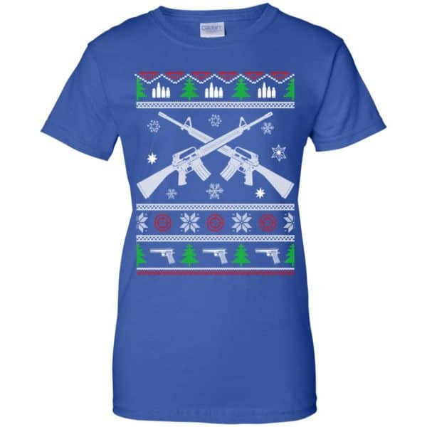 I Want Rifle Guns For Christmas Ugly Christmas Sweater, T-Shirts, Hoodie Apparel 14