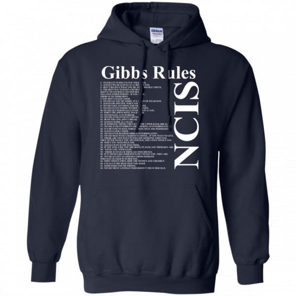 NCIS Gibbs Rules Shirt, Hoodie, Tank Apparel 8