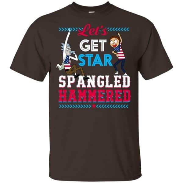 Let's Get Star Spangled Hammered Shirt, Hoodie, Tank Apparel 4