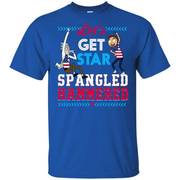 Let's Get Star Spangled Hammered Shirt, Hoodie, Tank Apparel 5