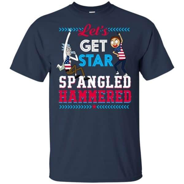 Let's Get Star Spangled Hammered Shirt, Hoodie, Tank Apparel 6