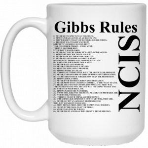 NCIS Gibbs Rules Mug Coffee Mugs