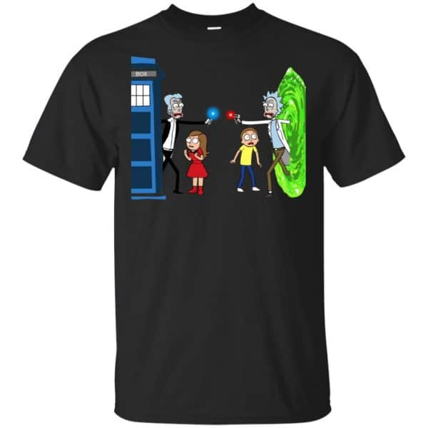 Doctor Who VS Rick And Morty Mashup T-Shirts, Hoodie, Sweater Apparel 3