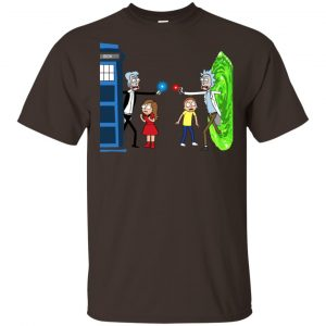 Doctor Who VS Rick And Morty Mashup T-Shirts, Hoodie, Sweater