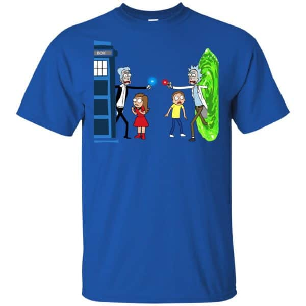 Doctor Who VS Rick And Morty Mashup T-Shirts, Hoodie, Sweater Apparel