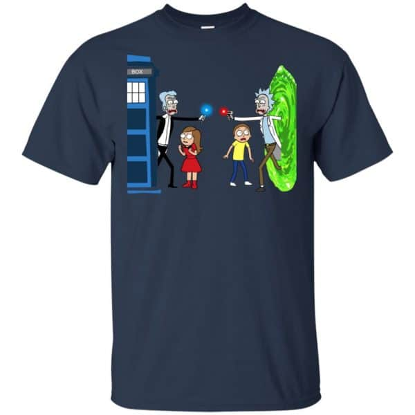Doctor Who VS Rick And Morty Mashup T-Shirts, Hoodie, Sweater Apparel 6