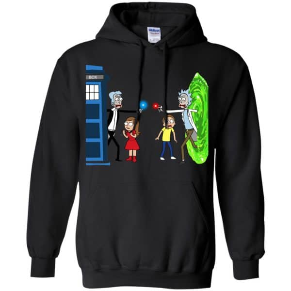 Doctor Who VS Rick And Morty Mashup T-Shirts, Hoodie, Sweater Apparel 7