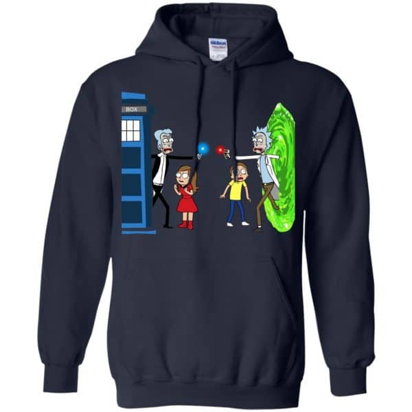 Doctor Who VS Rick And Morty Mashup T-Shirts, Hoodie, Sweater Apparel 8