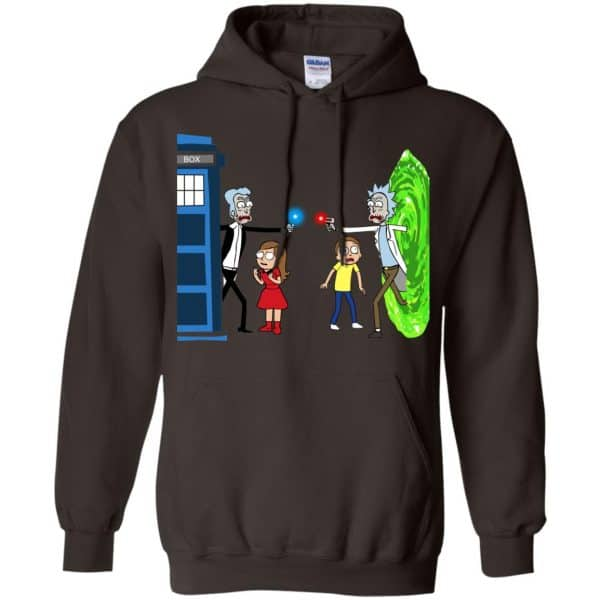 Doctor Who VS Rick And Morty Mashup T-Shirts, Hoodie, Sweater Apparel 9