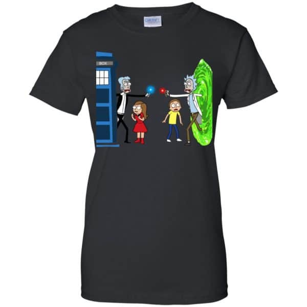 Doctor Who VS Rick And Morty Mashup T-Shirts, Hoodie, Sweater Apparel 11
