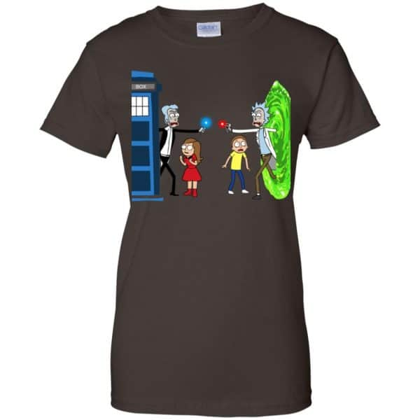 Doctor Who VS Rick And Morty Mashup T-Shirts, Hoodie, Sweater Apparel 12