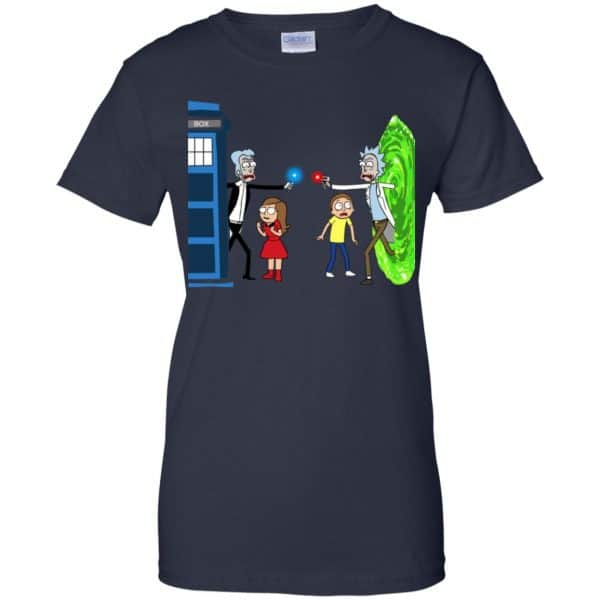 Doctor Who VS Rick And Morty Mashup T-Shirts, Hoodie, Sweater Apparel 13