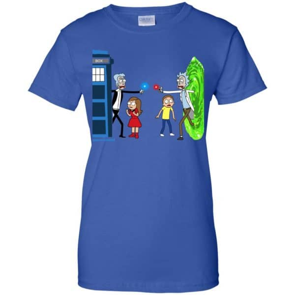 Doctor Who VS Rick And Morty Mashup T-Shirts, Hoodie, Sweater Apparel 14