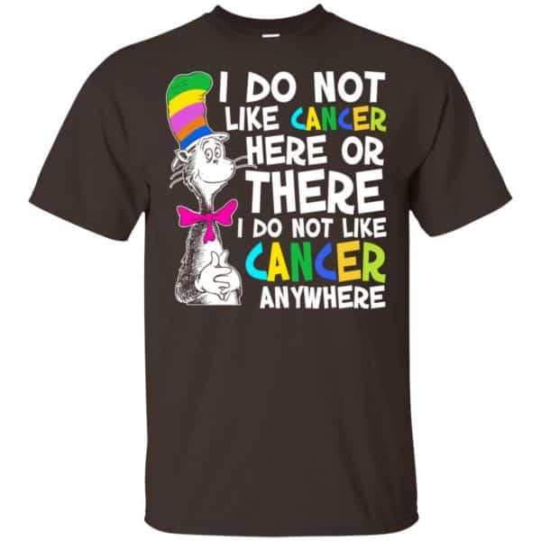 I Do Not Like Cancer Here Or There I Do Not Like Cancer Everywhere Shirt, Hoodie, Tank Apparel 4