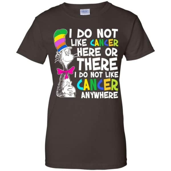 I Do Not Like Cancer Here Or There I Do Not Like Cancer Everywhere Shirt, Hoodie, Tank Apparel 12