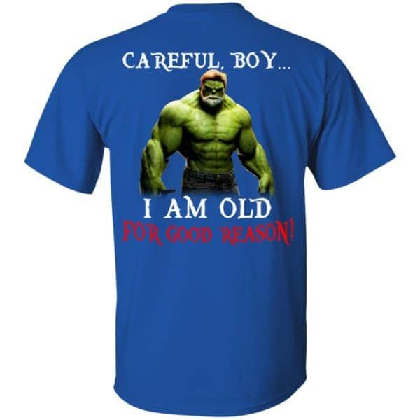 Hulk: Careful Boy I Am Old For Good Reason T-Shirts, Hoodie, Tank Apparel 5