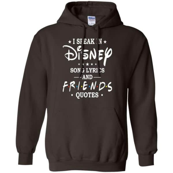 I Speak In Disney Song Lyrics and Friends Quotes Shirt, Hoodie, Tank Apparel 9