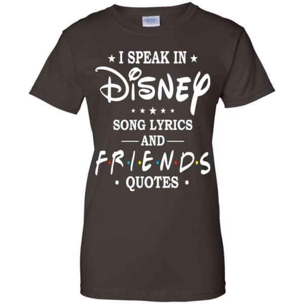 I Speak In Disney Song Lyrics and Friends Quotes Shirt, Hoodie, Tank Apparel 12
