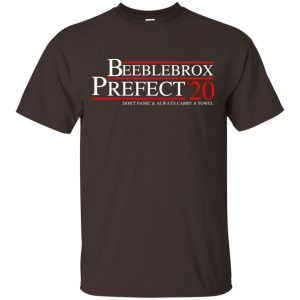 Beeblebrox Prefect 2020 Don't Panic & Always Carry A Towel T-Shirts, Hoodie, Tank Apparel