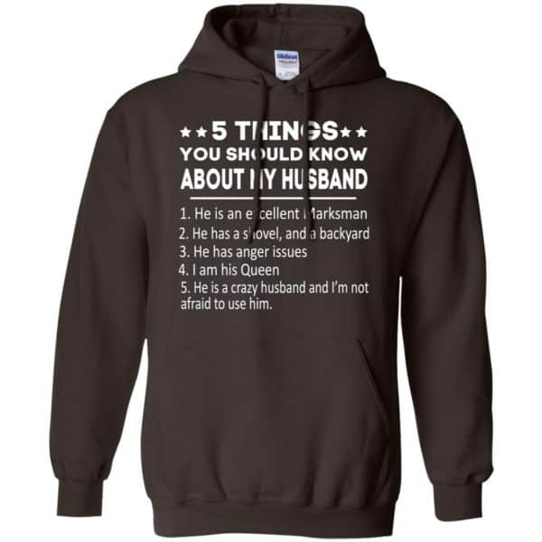 5 Things You Should Know About My Husband T-Shirts, Hoodie, Tank Apparel