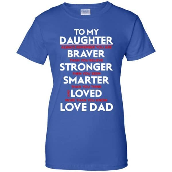 Always Remember You Are Braver Than You Believe Stronger – Daughter Shirt, Hoodie, Tank Apparel