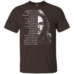 Jon Snow: List Name Aegon Of The House T-Shirts, Hoodie, Sweater Apparel