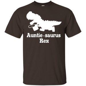 Auntie Saurus Rex Dinosaur Shirt, Hoodie, Tank Apparel 2