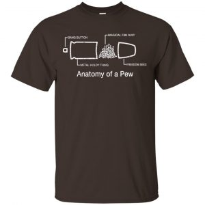 Anatomy Of A Pew Shirt, Hoodie, Tank Apparel