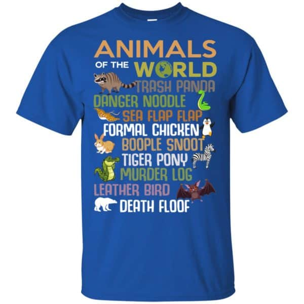 Animals Of The World Funny Animals T-Shirts, Hoodie, Tank Apparel 5