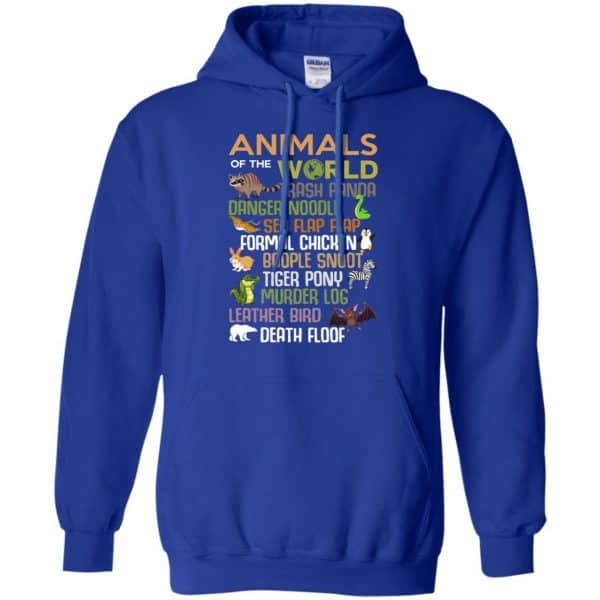 Animals Of The World Funny Animals T-Shirts, Hoodie, Tank Apparel 10