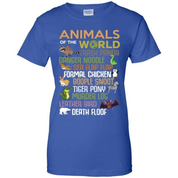 Animals Of The World Funny Animals T-Shirts, Hoodie, Tank Apparel 14