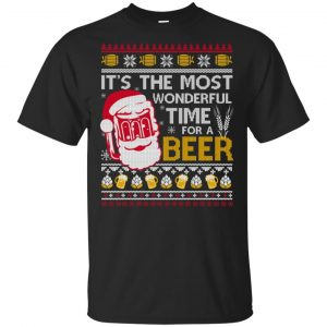 It's The Most Wonderful Time For A Beer T-Shirts, Hoodie, Sweater
