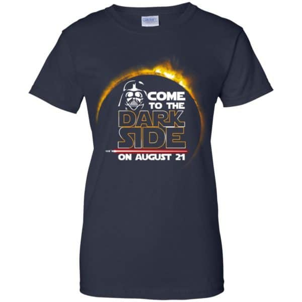 Total Solar Eclipse 2017 – Come To The Dark Side On August 21 Shirt, Hoodie, Tank Apparel