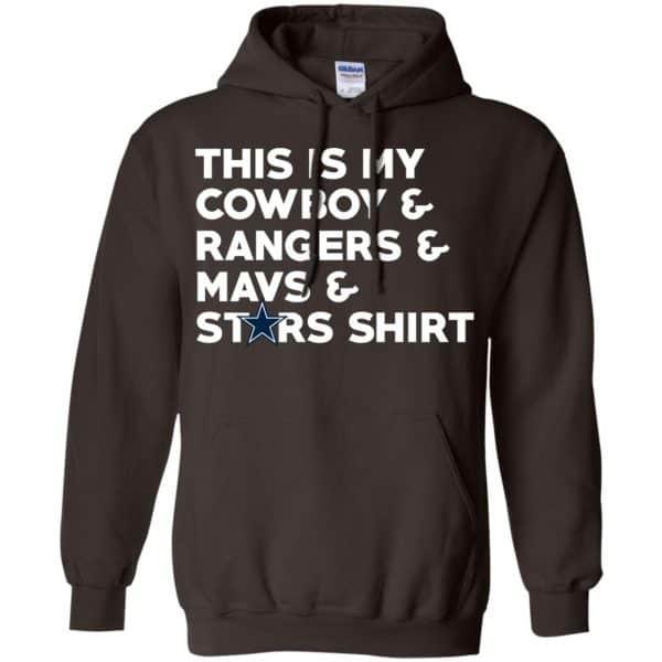 This Is My Cowboys & Rangers & Mavs & Stars Shirt Shirt, Hoodie, Tank Apparel 9