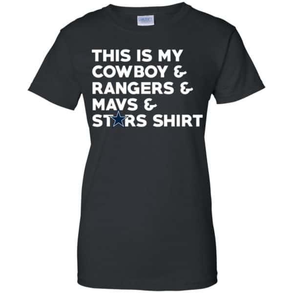 This Is My Cowboys & Rangers & Mavs & Stars Shirt Shirt, Hoodie, Tank Apparel 11