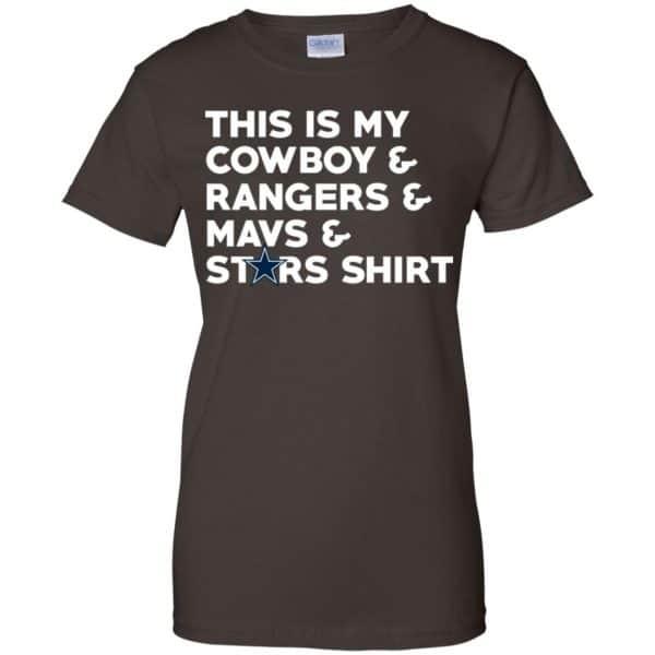 This Is My Cowboys & Rangers & Mavs & Stars Shirt Shirt, Hoodie, Tank Apparel 12