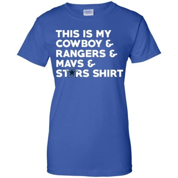 This Is My Cowboys & Rangers & Mavs & Stars Shirt Shirt, Hoodie, Tank Apparel 14