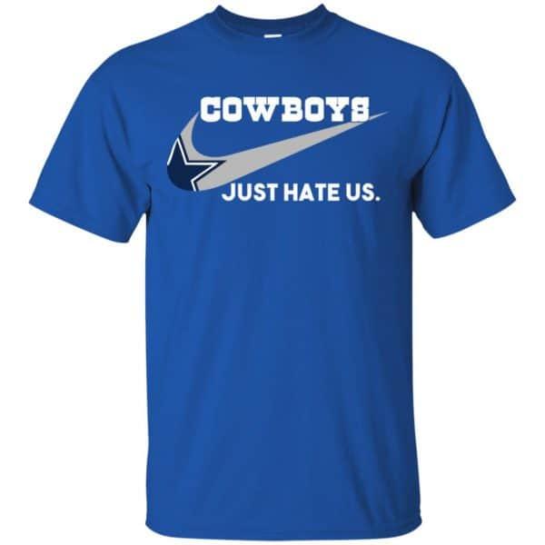 Dallas Cowboys Just Hate Us Shirt, Hoodie, Tank Apparel 5