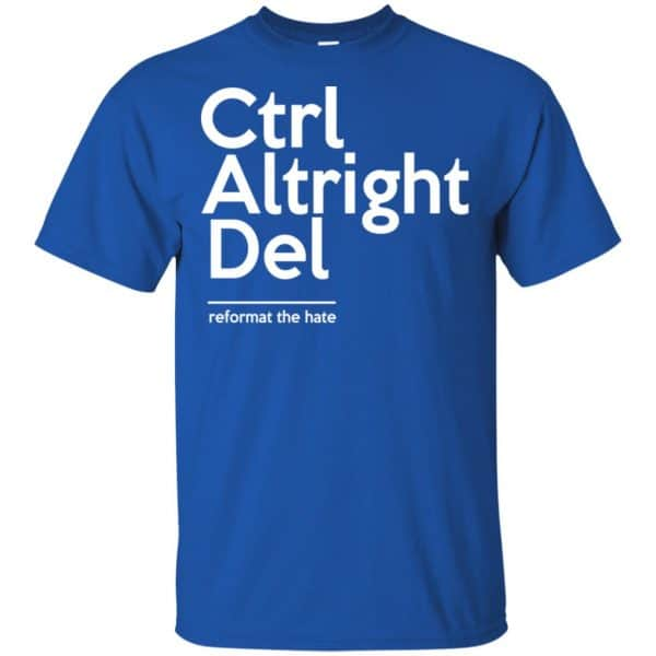 Ctrl Altright Del Reformat The Hate Shirt, Hoodie, Tank Apparel 5