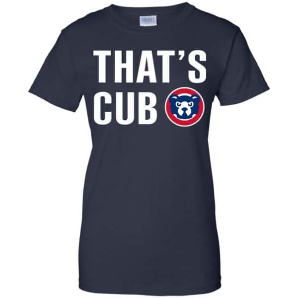 Chicago Cubs – That's Cub Shirt, Hoodie, Tank Apparel 13