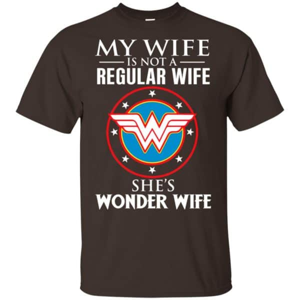 My Wife Is Not A Regular Wife She's Wonder Wife Shirt, Hoodie, Tank Apparel 4