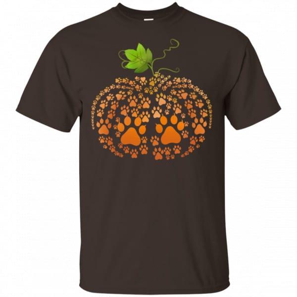 Cat Paw Print Pumpkin Halloween Shirt, Hoodie, Tank