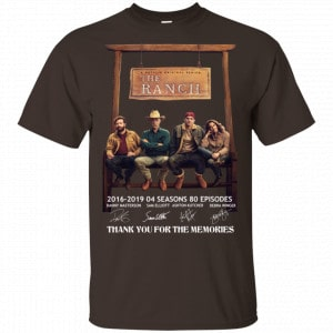 3 Years Of The Ranch Anniversary Shirt, Hoodie, Tank Apparel 2