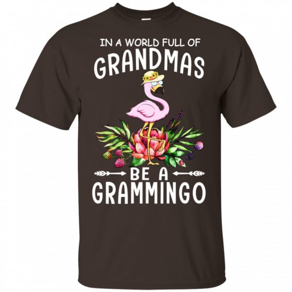 In A World Full Of Grandmas Be A Grammingo Shirt, Hoodie, Tank